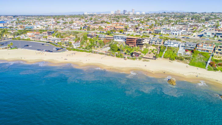 Пляж Ньюпорт, Калифорния, США