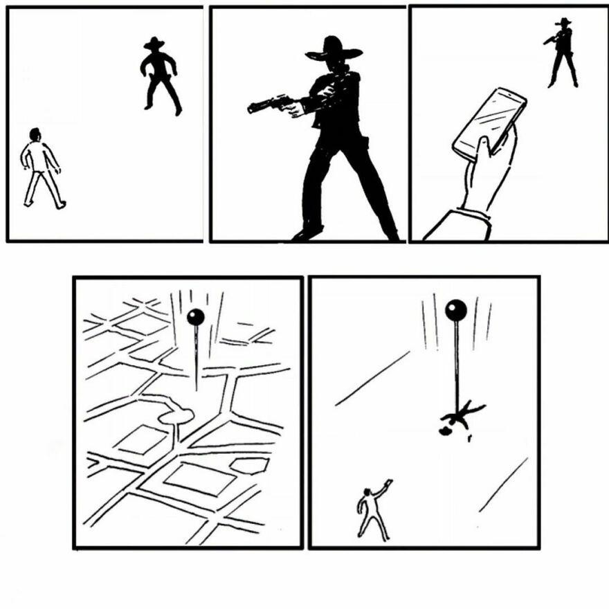 Простые, но умные комиксы от художника Танго Гао (новые работы)