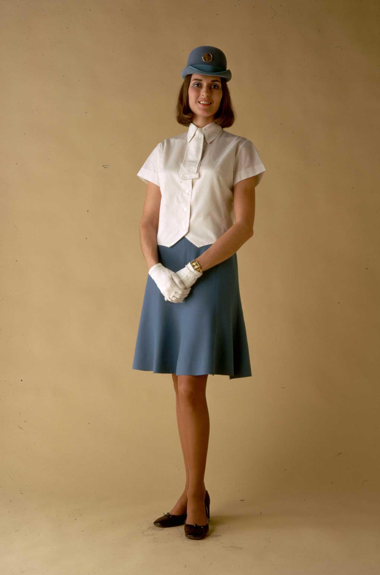 Униформа стюардесс Pan American Airways