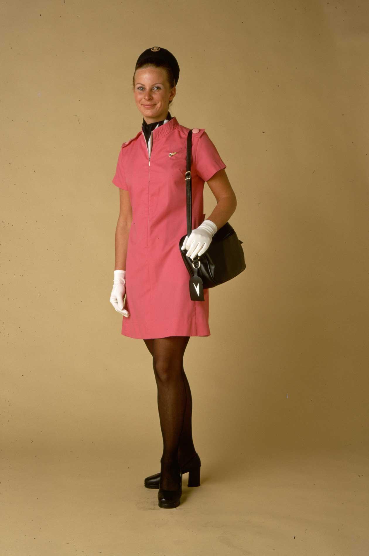 Униформа стюардесс British Overseas Airways Corporation