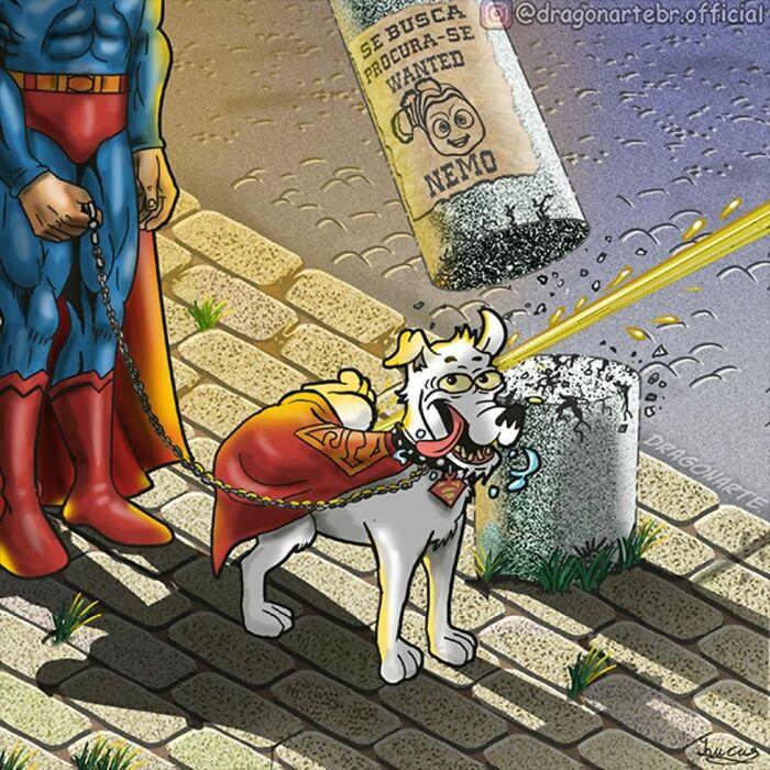 Чем занимаются супергерои и другие известные персонажи, когда не спасают мир
