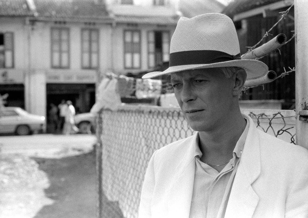 Дэвид Боуи в Сингапуре в 1983