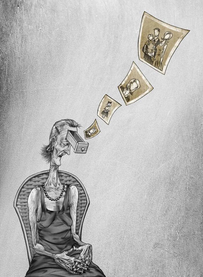 Иллюстрации о проблемах современного общества