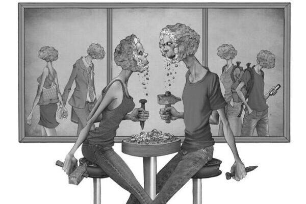 Сильные иллюстрации о проблемах современного общества от аргентинского художника