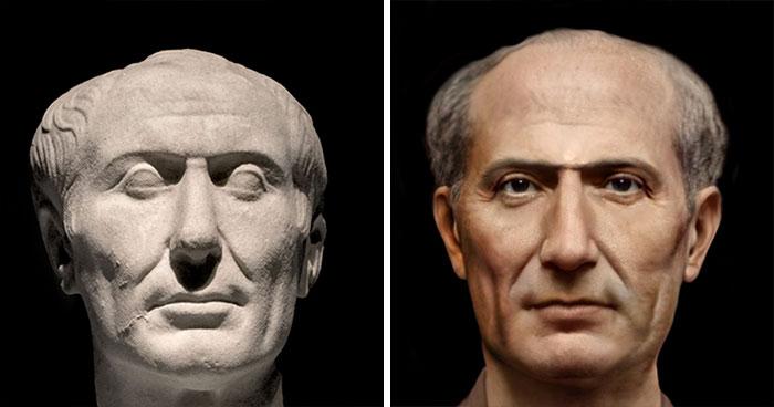 Древнеримский государственный и политический деятель Юлий Цезарь