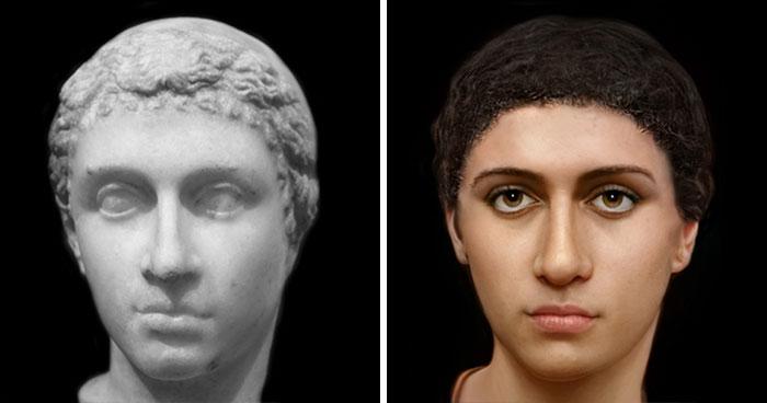 Как выглядели Юлий Цезарь и 23 других людей из древней истории