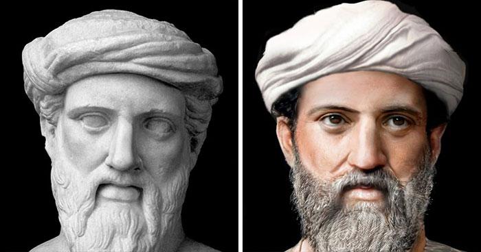 Древнегреческий философ, математик и мистик Пифагор