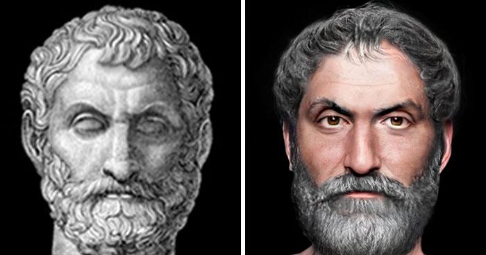 Древнегреческий философ и математик Фалес Милетский