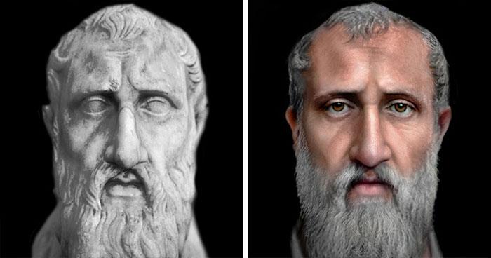Древнегреческий философ Зенон Китийский