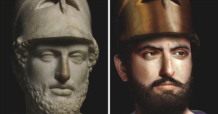 Древнегреческий государственный деятель, оратор и полководец Перикл