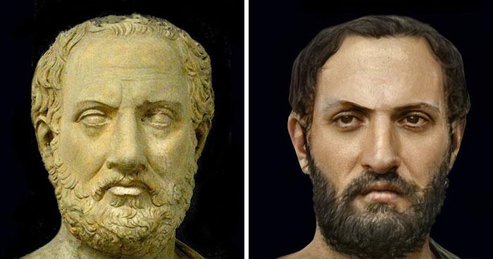 Крупнейший древнегреческий историк, основатель исторической науки Фукидид