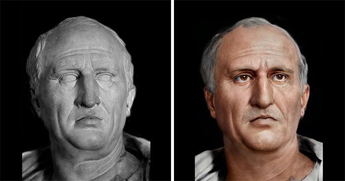 Древнеримский политический деятель Цицерон