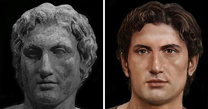 Царь Македонии Александр Македонский