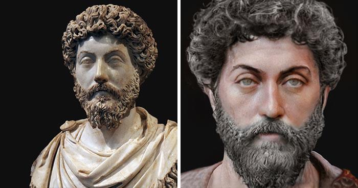 Римский император и философ Марк Аврелий
