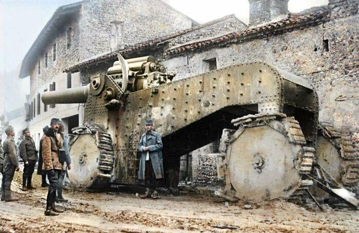 Гигантское итальянское орудие