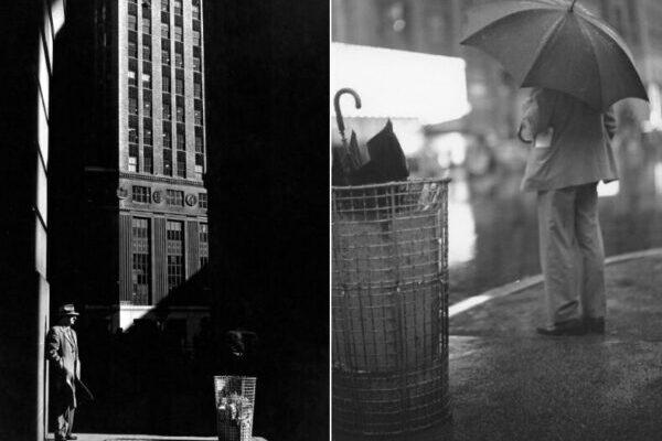 Чёрно-белые снимки улиц Нью-Йорка 1950-х годов