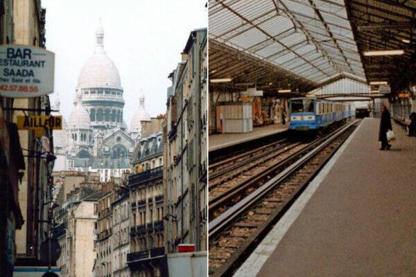Увлекательные снимки улиц Парижа 1980-х годов