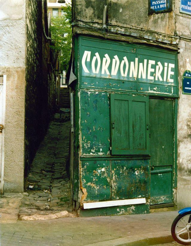 Фотографии Парижа 1980-х годов