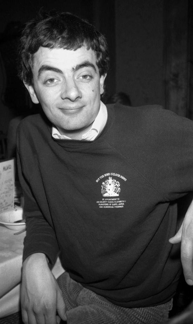 Фотографии очаровательного мистера Бина в молодости
