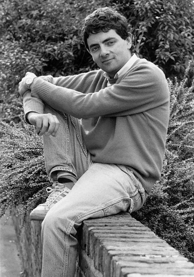 Роуэн Аткинсон (мистер Бин) в молодости