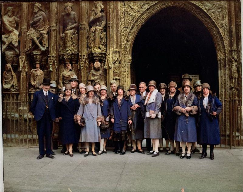 Цветные фотографии эдвардианской Британии