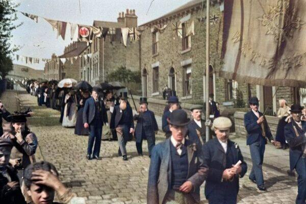 Жизнь во времена эдвардианской Британии в ярких цветных фотографиях