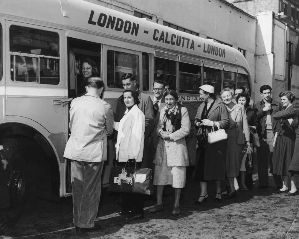 Лондон-Калькутта — самый длинный автобусный маршрут в мире