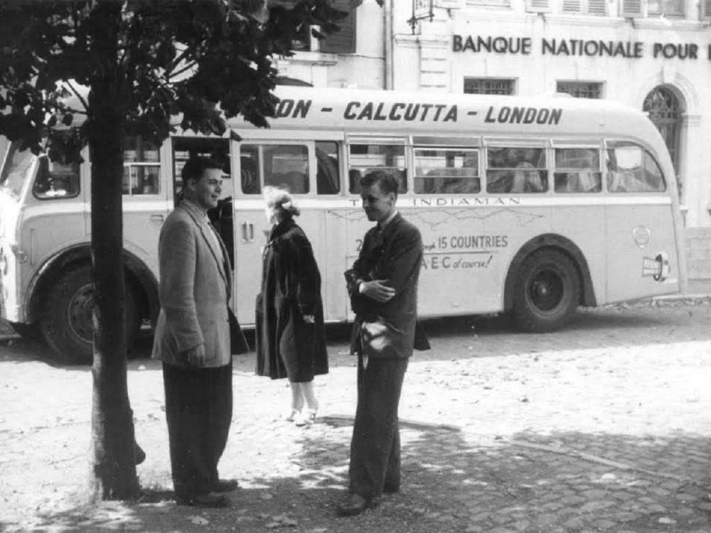Лондон-Калькутта - самый длинный автобусный маршрут в мире
