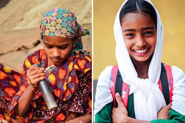 Трогательные портреты бангладешских детей, которых фотограф избавил от труда и отправил учиться