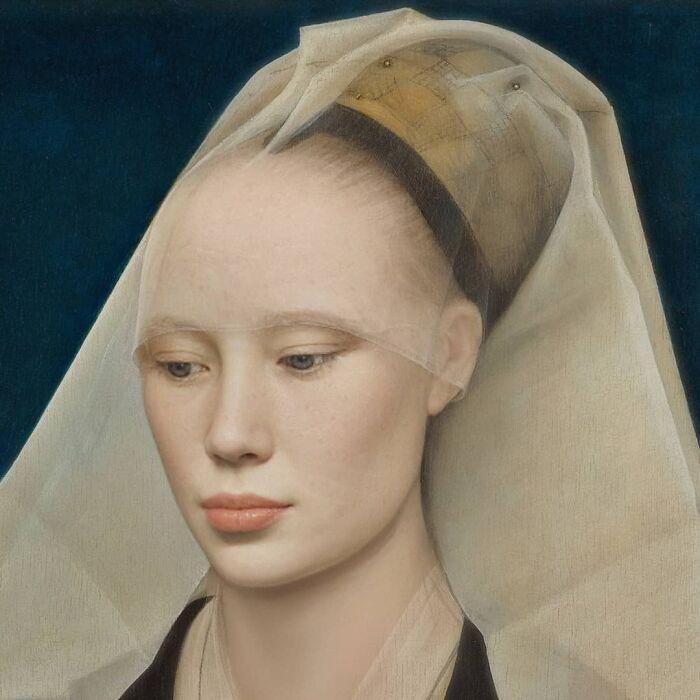 Рогир ван дер Вейден - Портрет дамы