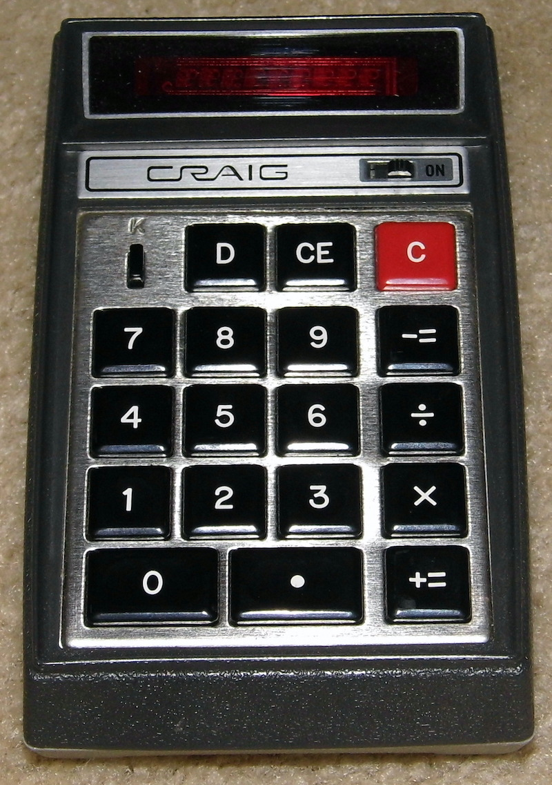 Карманный калькулятор 901B фирмы Bomwar
