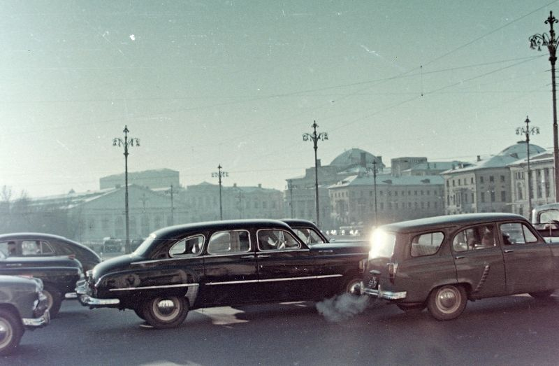 Манежная площадь, Москва