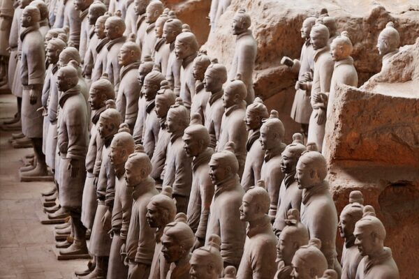 Терракотовая армия: история китайских терракотовых воинов