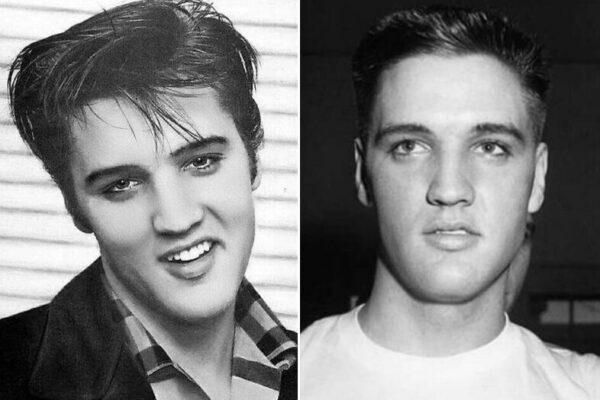 Портреты молодого и красивого Элвиса Пресли в 1950-х годах