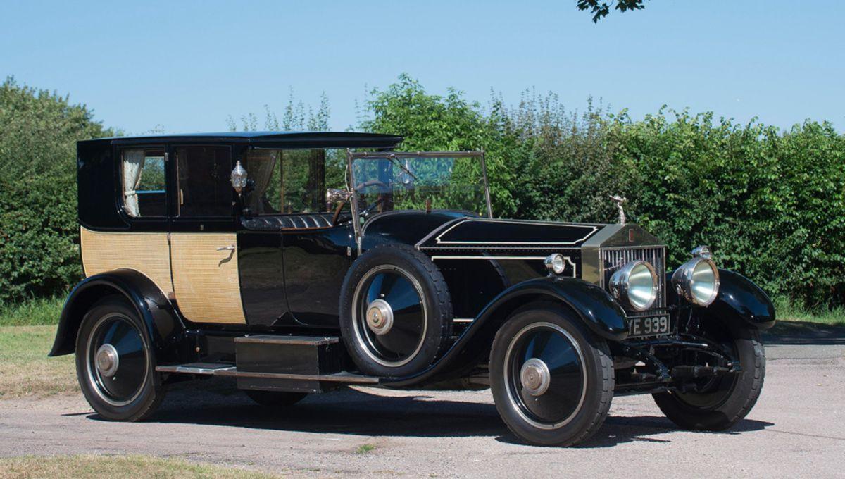 Rolls-Royce Phantom 1926 года - самый дорогой Rolls-Royce в истории