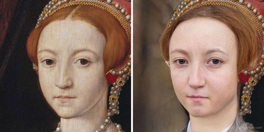 Елизавета I (в подростковом возрасте)