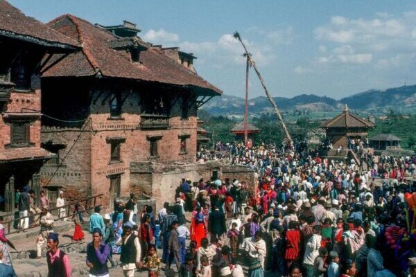 Красивые фотографии старого Катманду в 1976 году
