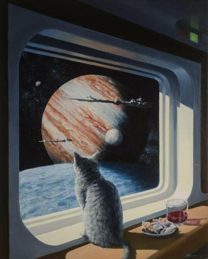 «Корабельный кот» от Кейт Спэнгл