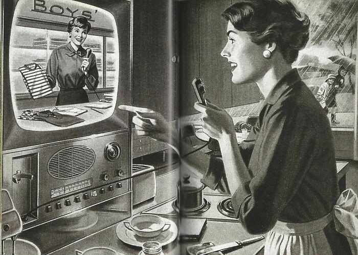 Шоппинг в 1940-х годах