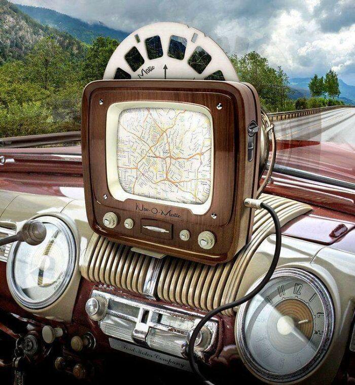 Система навигации пятидесятых годов