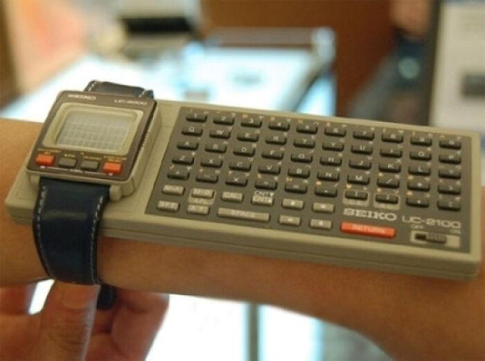 Умные часы, 1984 год