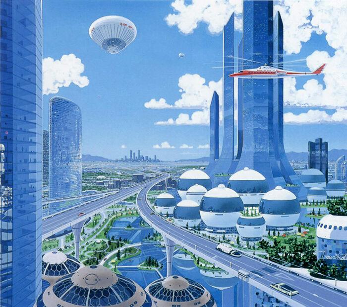 Город будущего, 1980-е. Тацуши Моримото