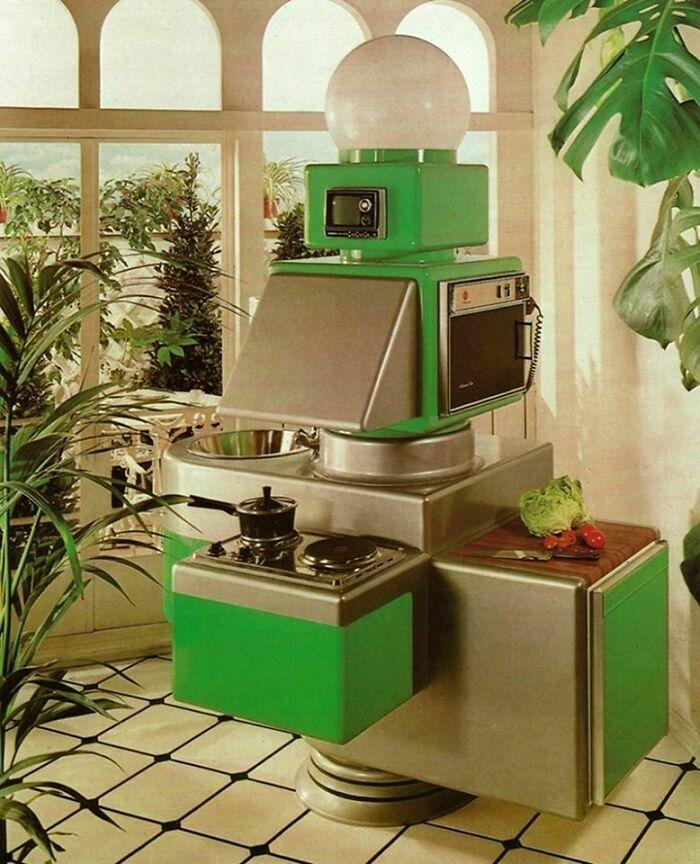 «Удобная» кухня 74 года