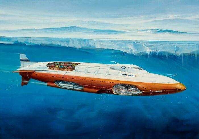Автономный реактивный корабль будущего