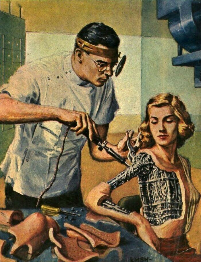 Женщина-андроид, 1954 год.Эд Эмшвиллер