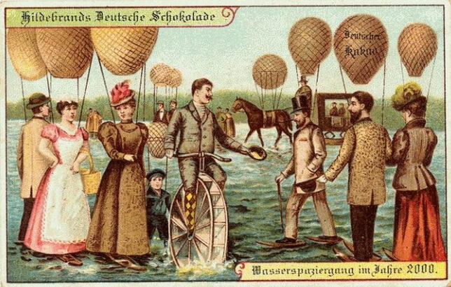 Прогулка по озеру в 2000 году с помощью воздушного шара