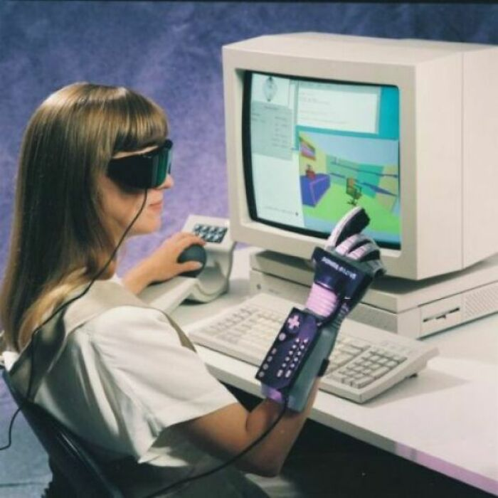 Виртуальная реальность, перспектива 90-х