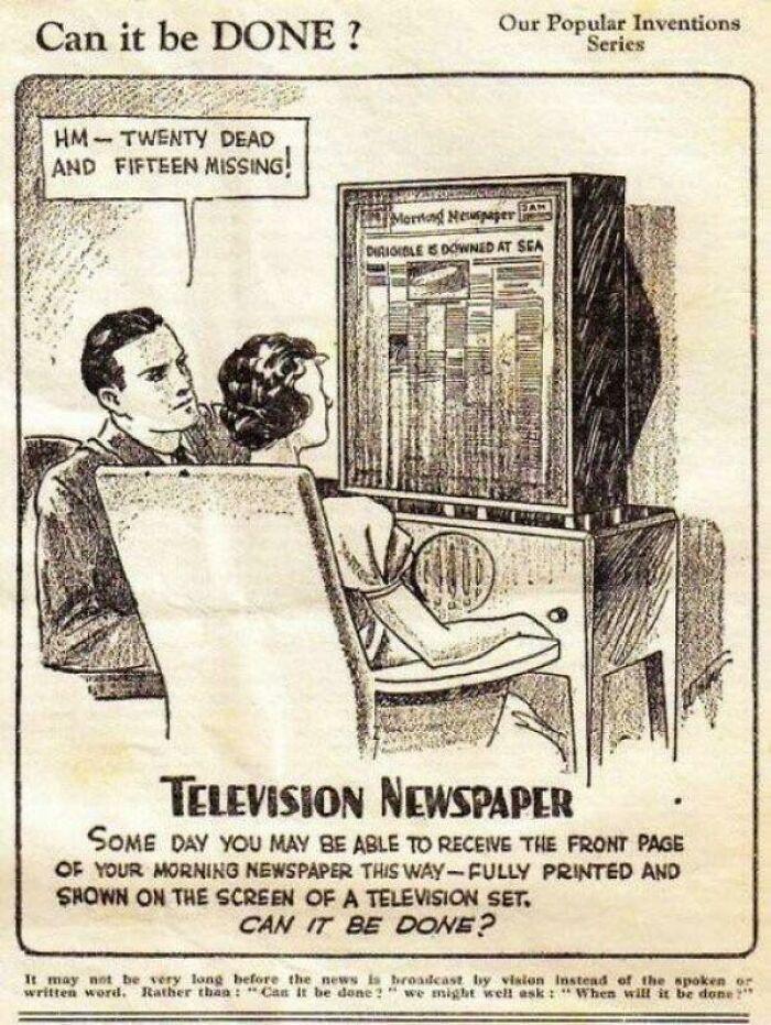 Телевизионная газета