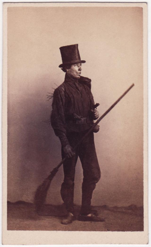 Трубочист. Фотограф: Уильям Каррик