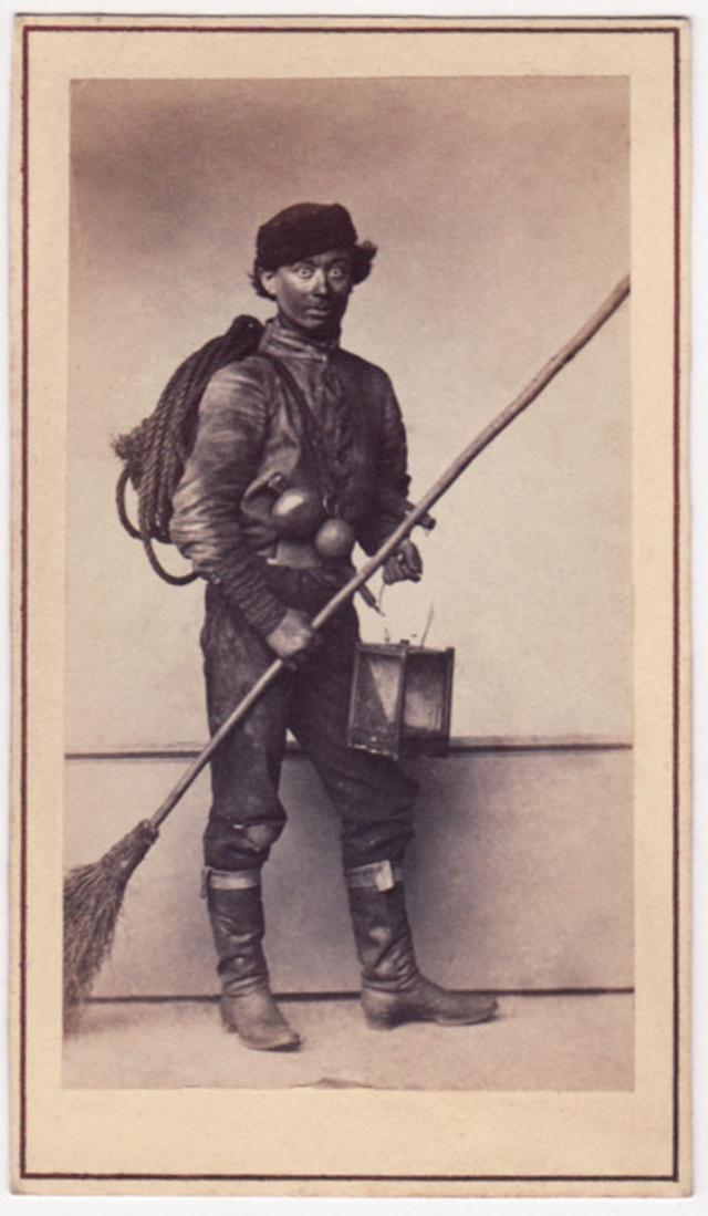 Трубочист. Фотограф: Альфред Лоренс